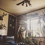 リメイク/木箱/窓枠/DIY/カフェ風/ブルックリンスタイル…などのインテリア実例