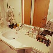 ダイソー/セリア/リメイク/Bathroom…などのインテリア実例
