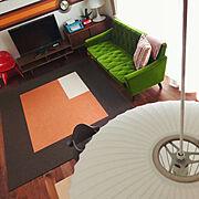 IKEA/パントン/mt CASA/カサリーノJr./WESTCLOX/カリモク60…などのインテリア実例