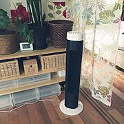 DIY棚/中古住宅/築38年/古いおうち/扇風機/アイリスオーヤマ…などのインテリア実例
