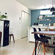 冷蔵庫/Kitchen/いいね、フォロー本当に感謝です♡/ウォーターサーバー/IKEA…などのインテリア実例