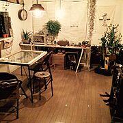 ソファ/クッション/ウンベラータ/DIY本棚/本棚/モチーフ編み…などに関連する他の写真