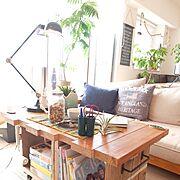 手作り/新婚/nico and.../植物/WOODPRO/新築マンション…などのインテリア実例