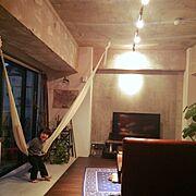 JSF研究会/リノベーション/インナーバルコニー/中古住宅/ハンモック2000/Lounge…などのインテリア実例