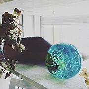自然を感じる雑貨作り/ハーバリウム/浮き玉ハーバリウム…などのインテリア実例