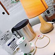カメラマーク消し☆/雑貨大好き♡/バザーでGET/カフェスタイル/ハーブティー/英字…などのインテリア実例