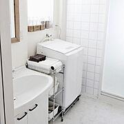 洗面所収納/IKEA/ダイソー/インスタ→takimoto-manami/整理収納コンサルタント…などのインテリア実例