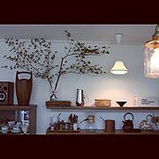 ドウダンツツジ/DANSK/My Shelf…などのインテリア実例