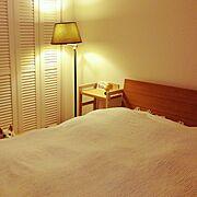 ナチュラル/寝室/Bedroom…などのインテリア実例
