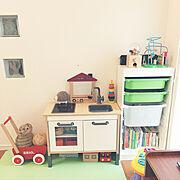 北欧インテリア/無印良品 壁に付けられる家具/子供と暮らす。/リビング…などに関連する他の写真