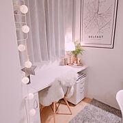 IKEAのランプシェードのインテリア実例写真