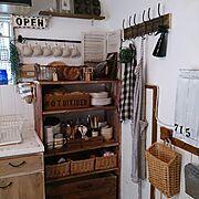 2014.6/無垢の床/子供服リメイク/ガーランド/冷蔵庫横/100均…などに関連する他の写真