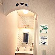 ニトリ/IKEA/照明/白がすき/観葉植物/西海岸風…などのインテリア実例