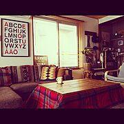DIY/こたつ/和室を改造/男前も可愛いも好き/暖房/Overview…などのインテリア実例
