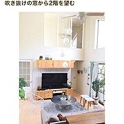RoomClip mag/ありがとうございます♡/吹き抜け/勾配天井/Lounge…などのインテリア実例