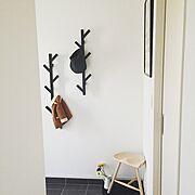 フック/収納/北欧/IKEA/コンテスト参加/収納アイデア…などのインテリア実例