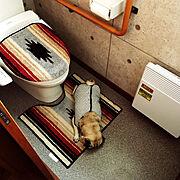 パグのいる生活/Bathroom/Bathroom…などのインテリア実例