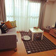 おうち/サリュ/スタジオクリップ/かご/さぼてん/IKEA…などのインテリア実例