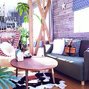 IKEA/ニトリ/DIY/unico/西海岸インテリア/セリア…などのインテリア実例
