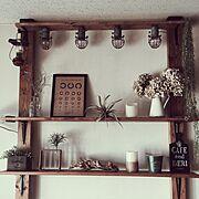定点観測/手作り棚/窓枠/カフェ風屋根 /襖リメイク/長椅子diy…などに関連する他の写真