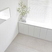 シンプル/ナチュラル/100均/洗面所 収納/洗面所 棚/マンション 洗面所…などに関連する他の写真