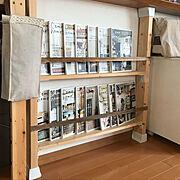 スッキリ化計画/カフェ風も好き/可愛くしたい!/DIY/ディアウォール/本棚DIY…などのインテリア実例