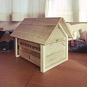 セリアのブック型小物入れのインテリア実例写真