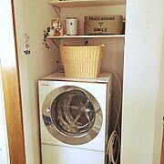 雑貨/ナチュラル/ハンドメイド/シンプル/Bathroom…などのインテリア実例