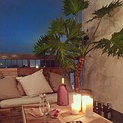 IG▶︎__locuomi__/BEACH STYLE/beach/ビーチスタイル…などのインテリア実例