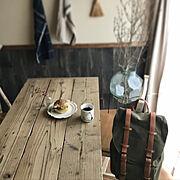 カフェ風/村上直子/ガストンルーガ/シンプル/器好き/インテリア…などのインテリア実例