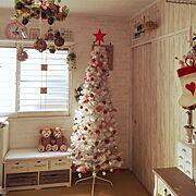 もと和室/雑貨/ブラブラ大好き♡/いつもいいねやコメありがとうございます♡/クリスマス…などのインテリア実例