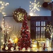 ノルディカサンタ/ノビリ/いいね、フォロー本当に感謝です♡/ケーラー/クリスマスディスプレイ…などのインテリア実例