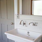 実験用シンク/洗面所/洗面台/Bathroom…などのインテリア実例