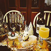 キラキラ/フワフワ/ほっこり♡/フワフワトナカイ/クリスマス/ニトリ…などのインテリア実例