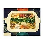 Kitchen/野菜10種類以上入ってる/具だくさん/BRUNO/ブルーノ/鍋…などのインテリア実例