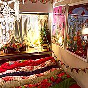 IKEA/マッケンージーチャイルズ/デコ窓/ナタリーレテ/bagaille/Bedroom…などのインテリア実例
