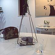 アンティーク/IKEA/ビーカー/シンプルモダン/ホワイトインテリア/モノトーン…などのインテリア実例