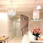 華やかなお部屋のインテリア実例写真