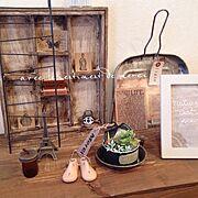 ブログ更新しました(*´艸'*)/miyabiさんのリメ缶/フランス語/手刺繍…などのインテリア実例