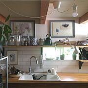 DIY/バリスタ/カフェコーナー/スタバ紙袋リメイク/★/ディアウォール…などに関連する他の写真