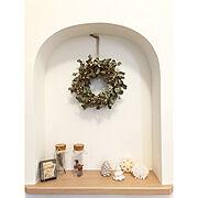 Entrance/クリスマスディスプレイ/ガラス瓶/びん/試験管/アンティーク…などのインテリア実例