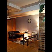 On Walls/niko and.../ラグ/ソファ/ダイニングベンチ/ダイニングテーブル…などのインテリア実例