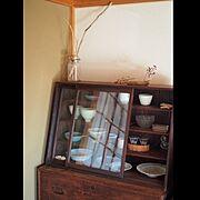 古道具/古い建具/日本家屋/カフェ風インテリア/和家具/リノベーション…などのインテリア実例
