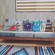 ニトリ/ビーチハウス/海/surfer's room/サーフテイストが好き♡/冬より夏が好き…などのインテリア実例