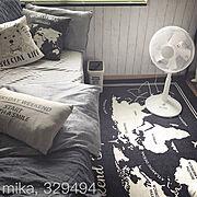 山善扇風機/YAMAZEN扇風機/yamazen/山善/山善リポスト/Mikaさん…などのインテリア実例