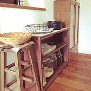 かご/アンティーク/Basket/収納/雑貨/古道具…などのインテリア実例