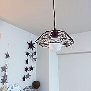 モノトーン/照明/DIY/IKEA/FlyingTiger/Lounge…などのインテリア実例