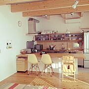 無印良品/収納/植物/観葉植物/DIY/Kitchen…などのインテリア実例