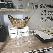 My Shelf/我ながらビックリw/約束してないのに同じタイミングでpic/フォローすごく嬉しいです♡…などのインテリア実例