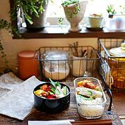ボタニカルライフ/植物のある暮らし/グリーンのある暮らし/グリーン/おべんとう…などのインテリア実例